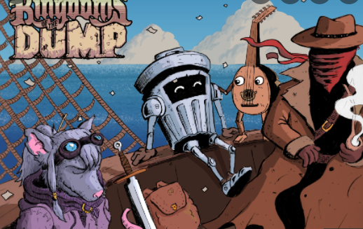 Kingdoms Of The Dump Gameplay, Characters, Release Date Trailer Plot Details Skins and More